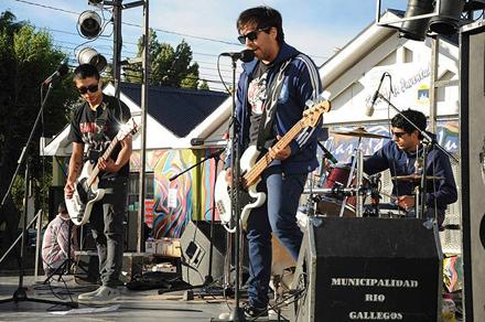 Bandas locales compartieron escenario en el anfiteatro de la Casa de la Juventud